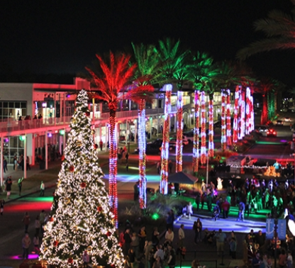 the wharf christmas tree lighting