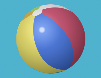 beach ball drop
