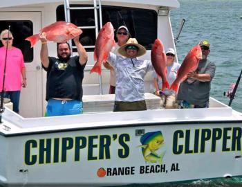 Chippers Clipper Orange Beach