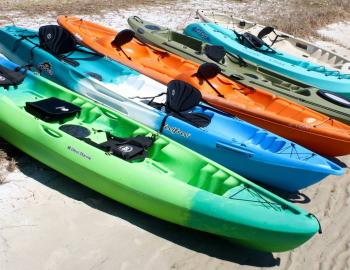 paddled by you kayak rentals