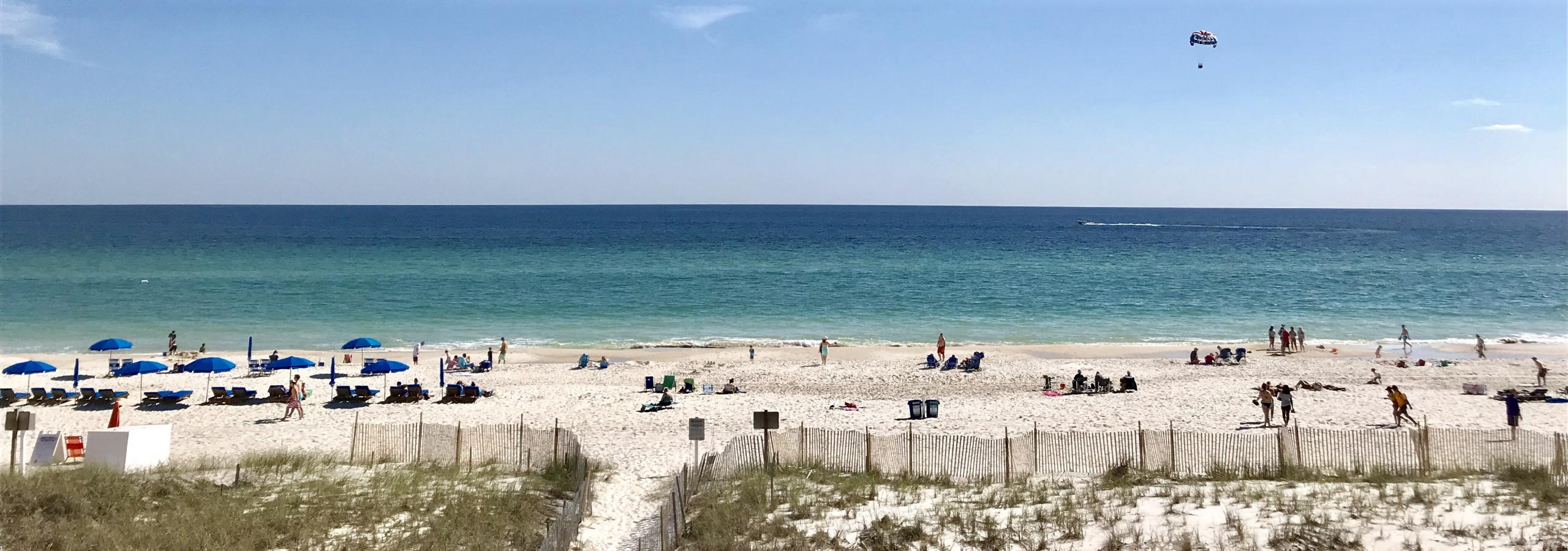 Beaches in Gulf Shores and Orange Beach AL